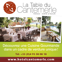 La table du Cantemerle